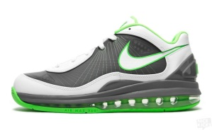 9aeede5721 Nike Air Max 360 BB Low-Cool Grey/Electric Green | ScottyPimpin's Blog